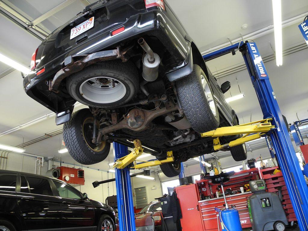 mechanika samochodowa robert kamiński - naprawa zawieszenia