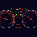 Co oznacza kontrolka samochód z kluczykiem / kłódką ?